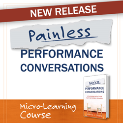 New Release - Painless Performance Conversations Micro-Learning