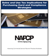 The NAPCP Releases New Reports That Address Sales and Use Tax, Cost Analysis and Benchmarking