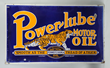 Lot #137,  Power-Lube Motor Oil Sign, estimated at $10,000-$20,000.