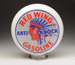 Lot #339 Red Wing Anti-Knock Gasoline Globe Lenses, estimated at $5,000-$8,000.