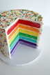 Three Brothers Bakery Celebrates LGBT Pride with Colorful 7-Layer Cake