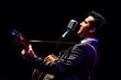 """Brandon Bennett as Elvis Presley from """"One Night in Memphis."""""""