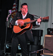 "Photo of Shawn Barker as Johnny Cash from ""One Night in Memphis."""