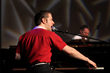 "Blair Carman as Jerry Lee Lewis from ""One Night in Memphis."""