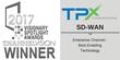 TPx's Use of SD-WAN Technology Earns 2017 Visionary Spotlight Award