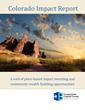 Cornerstone Capital Group Releases Colorado Impact Report