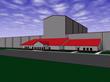 HarbisonWalker International  South Point Plant - Architect Rendering