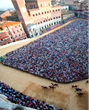 Exclusive Viewing of Il Palio Di Siena Horse Race from Local Count's Bella Casa With New Insider Experience Tuscany Tour from Luxo Italia