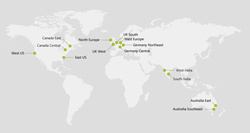 Exclaimer Azure Datacenter Locations