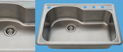 New T346 Stainless Steel Sink Now Available