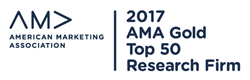 AMA Gold Top 50 2017 logo