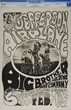 Jefferson Airplane Tribal Stomp FD-1 Concert Poster