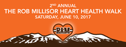 Support heart health in honor of Rob Millisor at the RAM Walk in Breckenridge this weekend.