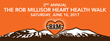 BGV and BGV Gives Present The 2nd Annual Rob Millisor Heart Health Walk in Breckenridge