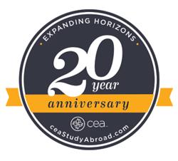 CEA Study Abroad 20th Anniversary