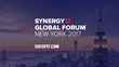 Iconic Figures From Business, Technology, Media and Sports Among Speakers at Synergy Global Forum New York 2017