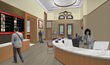 An information center will welcome visitors and register new readers.