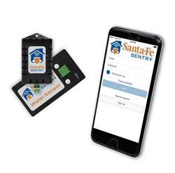 The Sentry connects a series of remote sensors located in the customer's crawl space or basement to a smart phone app that allows contractors to monitor for conditions such as humidity, water leaks and temperature that can create an ideal environment for