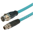 New X-coded Cat6a M12 Cables from L-com Support Industrial Connectivity Applications