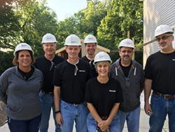 Balluff Leadership Team: (L to R) Theresa Studer, Steve Badinhaus, Dennis Lewis, Tony Cananaco, Jenny Arbino, Mark Pollard, Tom Rosenberg