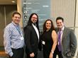 Dr. Alan J. Bauman with fellow panel speakers, Steve Reiss from Modern Salon, Brent Hardgrave of Reunited Hairlines and inventor of the Brent Brush and Karen Gordon of J. Gordon Design.