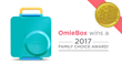 OmieBox Wins a 2017 Family Choice Award