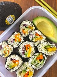 Avocado + Mango Sushi