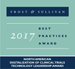 2017 Frost & Sullivan 'Technology Leadership Award for Digitalization of Clinical Trials'