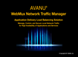 avanu webmux application delivery load balancing