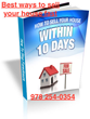 "Real Property Liquidators, LLC Releases New Report Titled ""How to Sell Your House Within 10 Days"""