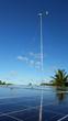 Solar/Wind Installation for R.O. Plant on remote Kili Island, Marshall Islands