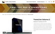 TransLine Volume 2 was Released by Pixel Film Studios for Final Cut Pro X