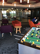 One of the game rooms at APT's new office