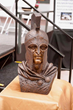 The Army and Navy Academy Senior Class Honors their School with a Striking Spartan Warrior Bronze Bust