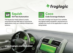 froglogic at Automotive Testing Expo