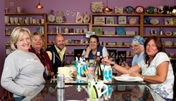 Bring your summer party to life! Find a CCSA-member PYOP studio near you at paintyourownpottery.com.