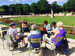"""Writers attending the Left Bank Writers Retreat find inspiration for their work in iconic Paris locations and by learning tips and techniques of author Ernest Hemingway and his 1920s """"Lost Generation"""""""