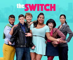 "Main photo for the TV sitcom ""The Switch"""