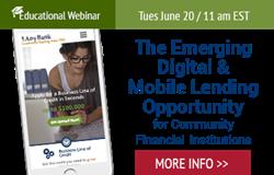 Emerging Digital Lending Opportunity Webinar