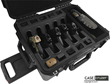 Universal Quick Draw 5 Pack Handgun Case with wheels