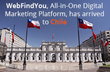 WebFindYou Furthers Its International Expansion into Chile, the Technical Mecca of Latin America