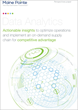 New Paper Outlines How Combining Data Analytics with Supply Chain and Operations Expertise Can Extract Unique Value for Companies