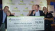 Krysta's Karing Angels Receives Check for $70,000