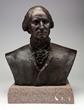 Bronze Bust of George Washington, estimated at $1,000-2,000.