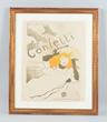Henri De Toulouse Lautrec Confetti Poster, estimated at $50,000-70,000.