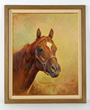 Secretariat Painting by Orren Mixer, estimated at $50,000-80,000.