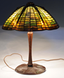 Tiffany Spider Lamp, estimated at $25,000-35,000.