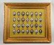 28 Presidential Portrait Miniatures, estimated at $5,000-15,000.