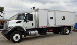Armortek Riot Control Water Cannon Truck for the U.N. - SRC Truck