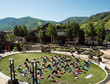 Free community yoga at The Solaris in Vail this summer